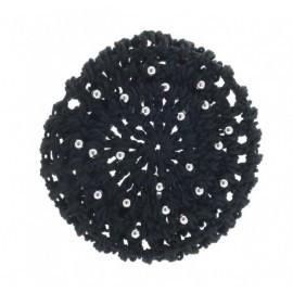 cache-chignon crochet perles KATZ grand modèle