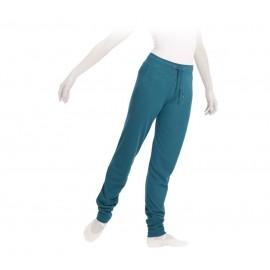 Pantalon droit REPETTO bleu paon