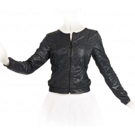 veste zippée manches longue REPETTO noir