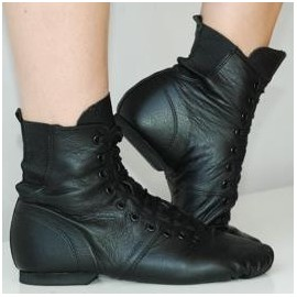 bottines cuir SWAN