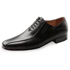 chaussure danse sportive homme WERNER KERN 28017 cuir nappa noir