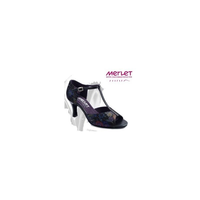 Chaussures de danse de salon merlet salama femme for Chaussures de danse de salon toulouse