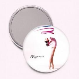 miroir de poche FOREVER B gymnaste ruban