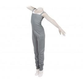 combinaison danse REPETTO enfant larges bretelles gris souris