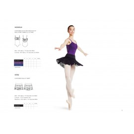 jupette danse classique BLOCH MIRELLA MS94