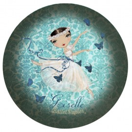 miroir de poche BALLET PAPIER