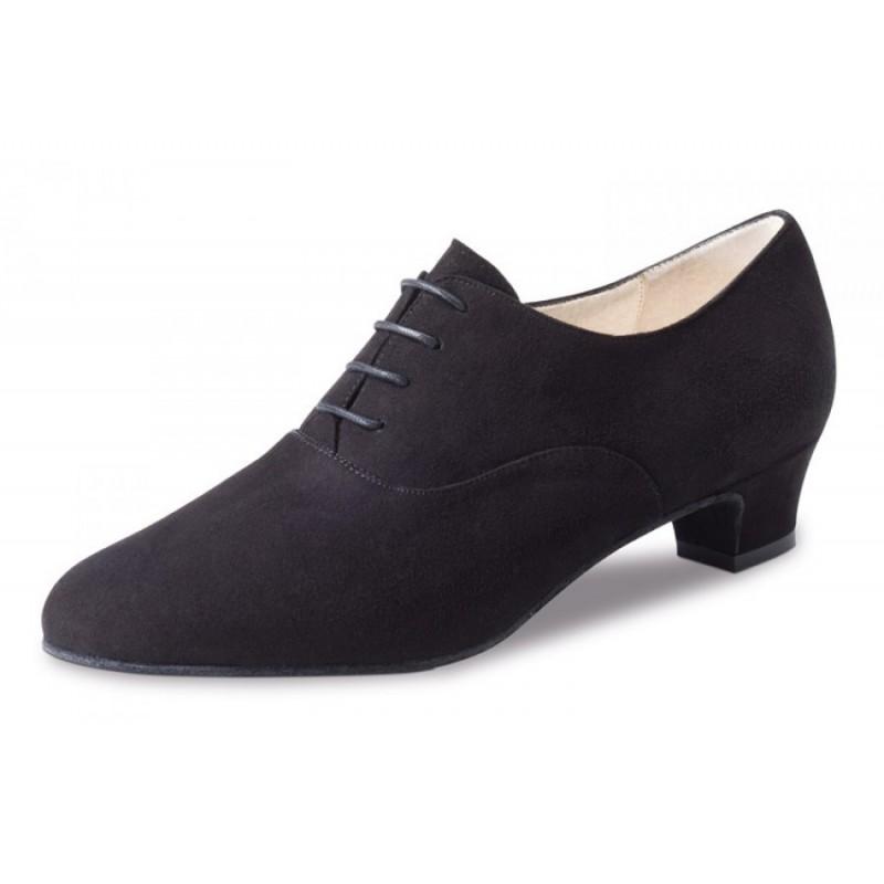 chaussures de danse de salon werner kern olivia femme daim noir body langage. Black Bedroom Furniture Sets. Home Design Ideas