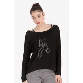 tee-shirt manches longues INTERMEZZO CAMPOINBRIL adulte
