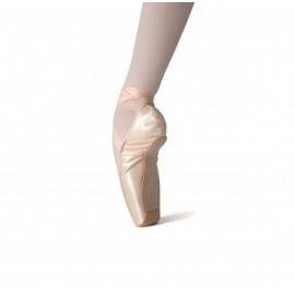 chaussons de danse pointes  MERLET ROSE débutantes