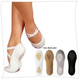 chaussons de danse demi-pointes SANSHA PRO1C blanc