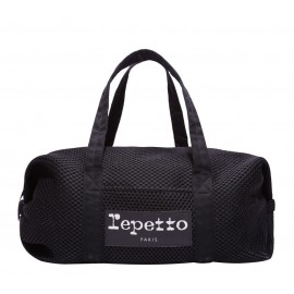 sac de danse REPETTO Grand Polochon Mesh noir