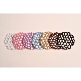 cache-chignon crochet strass DTTROL grand modèle
