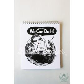 carnet de notes BALLET PAPIER We Can Do It