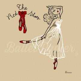 cartes de voeux BALLET PAPIER Ballet Girls