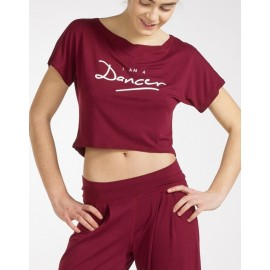 t-shirt court danse TEMPS DANSE AGILE DANCER adulte