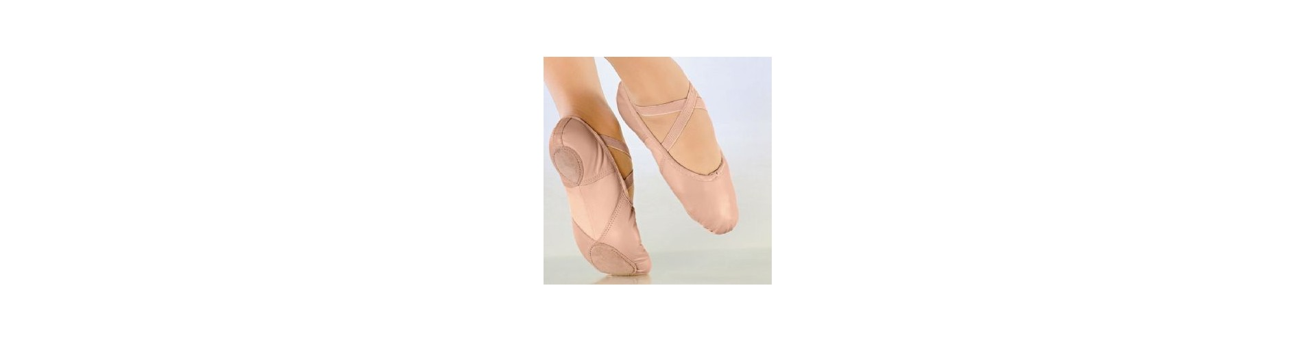 Chaussons de danse Demi-pointes CUIR