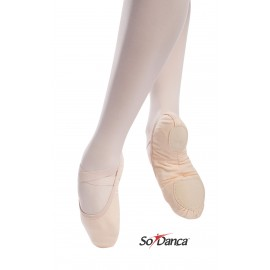 chaussons de danse demi-pointes vegan SO DANCA SD16 VG adulte