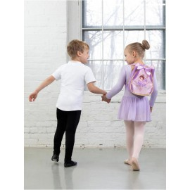 sac de danse CAPEZIO CHLOE SUGAR PLUM BACKPACK enfant