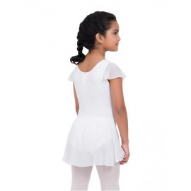 robe danse CAPEZIO FLUTTER SLEEVE DRESS enfant