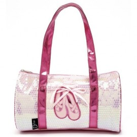 sac de danse DASHA DESIGNS Pink sparkling Duffle