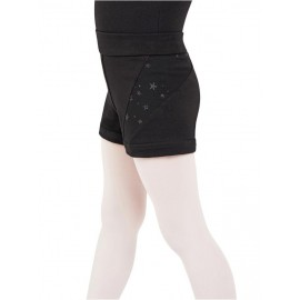 short danse CAPEZIO 11628C SHOOTING STAR SHORT enfant