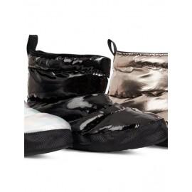Boots d'échauffement danse CAPEZIO H27W GLAM BOOTIE JET BLACK