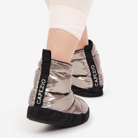 Boots d'échauffement danse CAPEZIO H27W GLAM BOOTIE PEWTER SHEEN