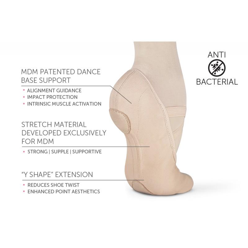 chaussons de danse demi-pointes MDM DANCE INTRINSIC PROFILE 2.0 adulte