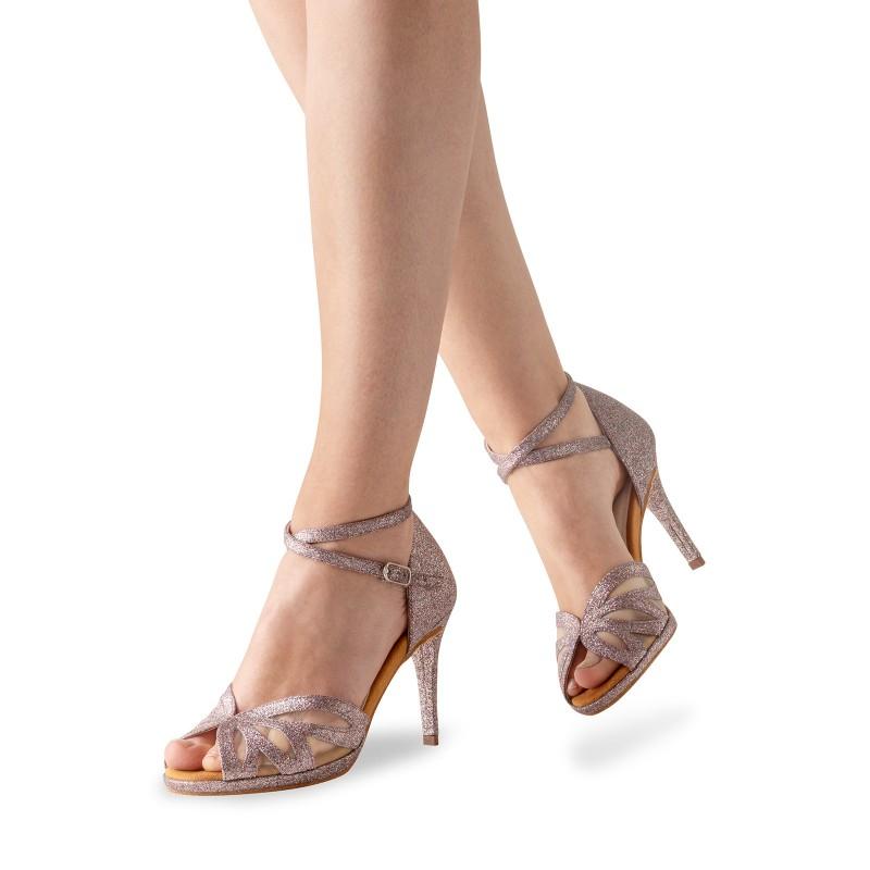 Chaussures de danse de salon WERNER KERN FEMME AK-930-80 brocart multicolore