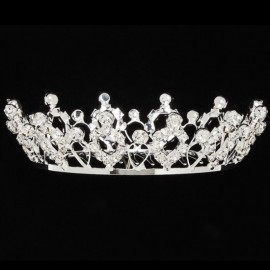 diadème couronne princesse DASHA DESIGNS PRINCESS CROWN 2808