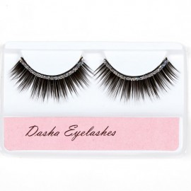 faux cils strass DASHA DESIGNS