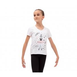t-shirt enfant REPETTO Zizi Rose
