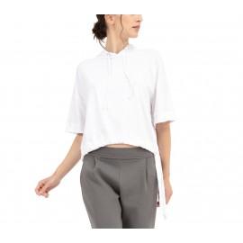 t-shirt à capuche REPETTO Dance With Repetto blanc