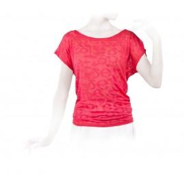 tee-shirt REPETTO manches courtes rose élixir