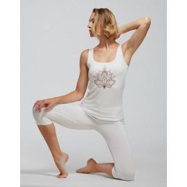 débardeur yoga TEMPS DANSE ANKA FLOWER