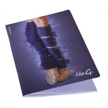 cahier danse A5 LikeG ligné LG-QPR-142