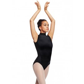 justaucorps danse CAPEZIO POLO NECK LEOTARD adulte