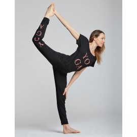 tee-shirt  yoga TEMPS DANSE AVA YOGA