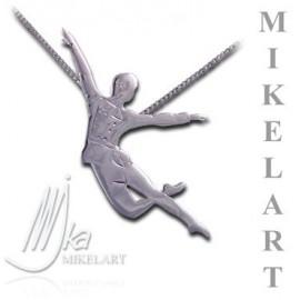pendentif danseur MIKELART CASSE-NOISETTE