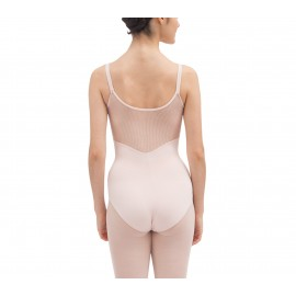 Justaucorps danse REPETTO dos dentelle rose pétale