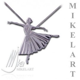 pendentif danseuse MIKELART ARABESQUE ETUDES