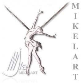 pendentif danseuse MIKELART NEO CLASSIQUE