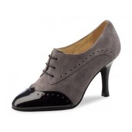 chaussure danse sportive femme WERNER KERN NOELIA chevreau velours gris