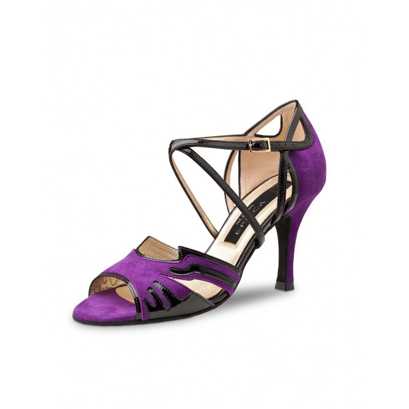 chaussure danse sportive femme WERNER KERN NURIA daim violet