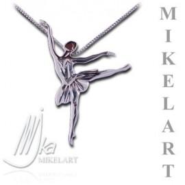 pendentif danseuse MIKELART ARABESQUE TUTU
