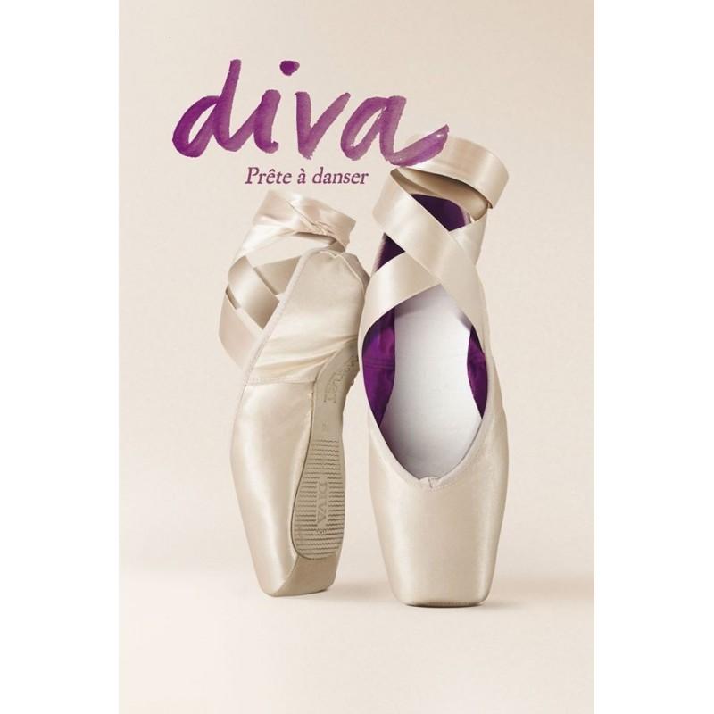 chaussons de danse pointes  MERLET DIVA