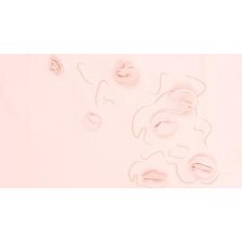 tee-shirt REPETTO enfant à fleurs rose pétale