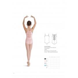 justaucorps danse BLOCH ROSEUM CL7967 enfant