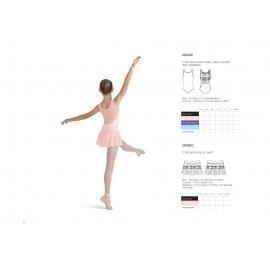 jupette danse classique BLOCH MIRELLA MS96C enfant