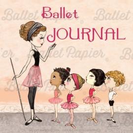 carnet de notes BALLET PAPIER